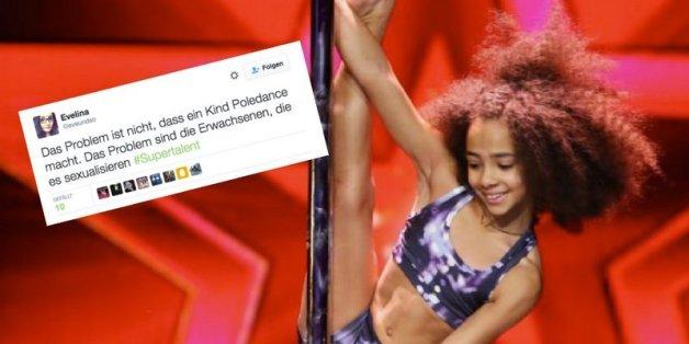 """Wirbel um Zehnjährige bei """"Das Supertalent"""": War dieser Pole-Dance-Auftritt unangemessen?"""