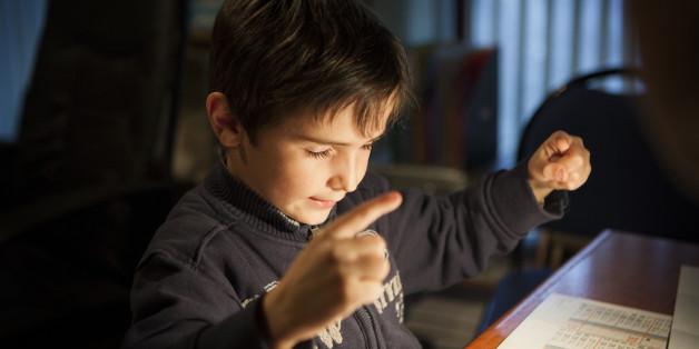 Der 13-jährige Cian Moore aus den USA hatte begonnen langsam zu erblinden. (Symbolbild)