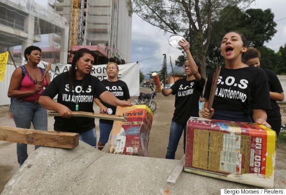 favela protest