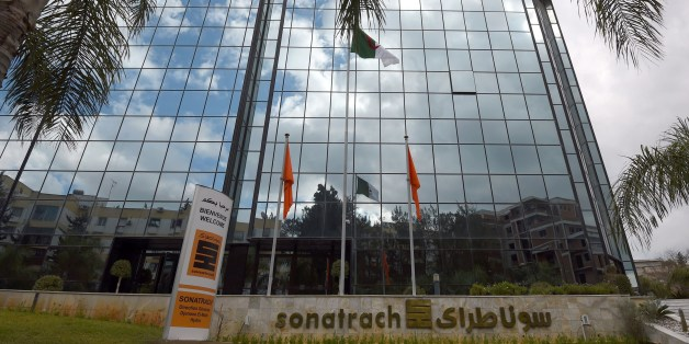 A picture taken on February 8, 2015, shows the headquarters of Algeria's state-owned energy giant Sonatrach in the capital Algiers. Sonatrach plans to invest at least $70 billion over the next 20 years to exploit shale gas in the southern desert. AFP PHOTO / FAROUK BATICHE        (Photo credit should read FAROUK BATICHE/AFP/Getty Images)