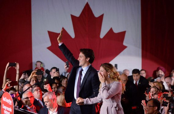 justin trudeau election victory