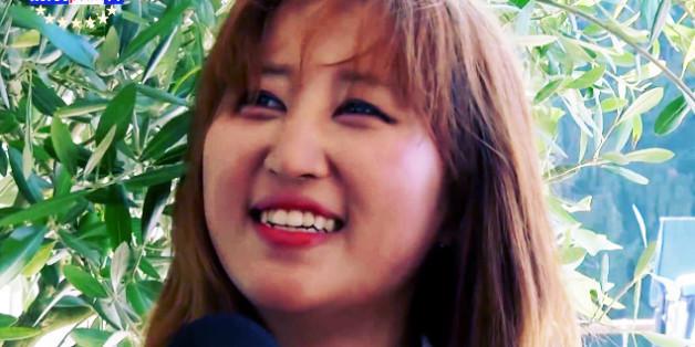 최순실씨의 딸 정유라(20)씨의 지난 8월 한 승마 전문 채널과의 인터뷰 모습