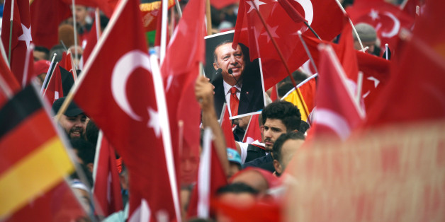 Eine Demo von Erdogan-Anhängern in Köln im Juli dieses Jahres