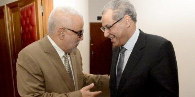 Abdelilah Benkirane et Mohand Laenser