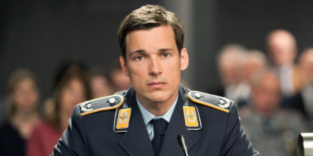 Florian David Fitz in seiner Rolle als Kampfpilot Lars Koch
