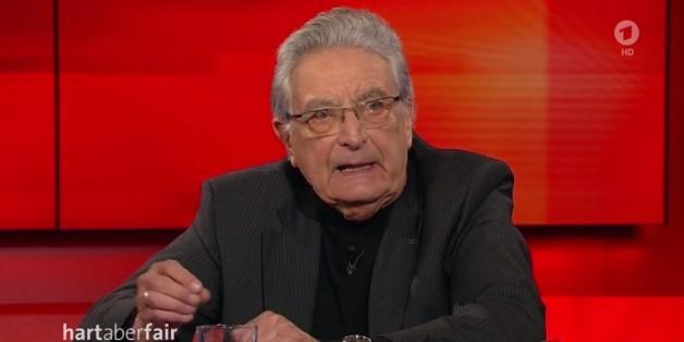 """""""Hart aber Fair"""": FDP-Mann Baum lässt nicht mit sich reden, dann tut Plasberg """"etwas ganz und gar Wahnsinniges"""""""