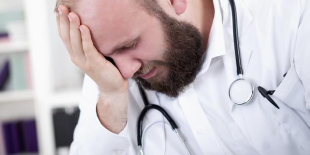 Immer mehr Ärzte sind durch ihr massives Arbeitspensum überfordert