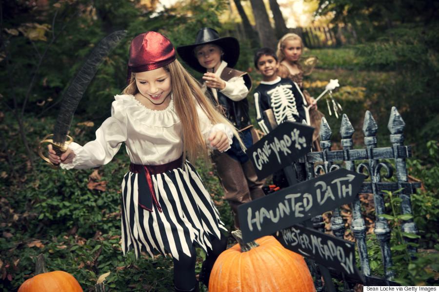 halloween kids run