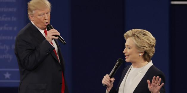 Donald Trump und Hillary Clinton sind besonders bei jungen US-Wählern extrem unbeliebt.
