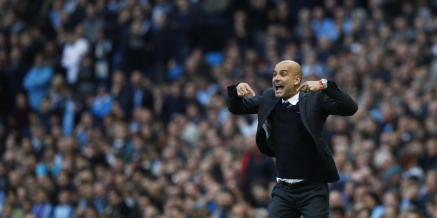 Manchester-City-Trainer Pep Guardiola trainierte den heutigen Champions-League-Gegner Barcelona jahrelang