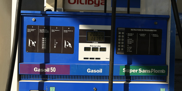A fuel pump is pictured at Oilibya gas station in Tunis,Tunisia February 3, 2016. REUTERS/Zohra Bensemra