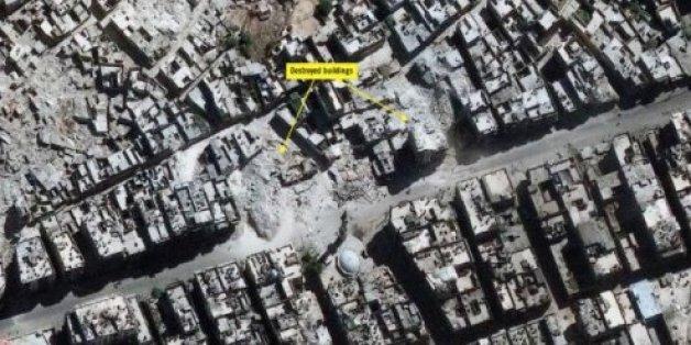 Des images satellite d'Amnesty International montrent la dévastation d'Alep en Syrie