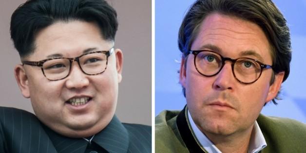 Kim Jong-un und Andreas Scheuer