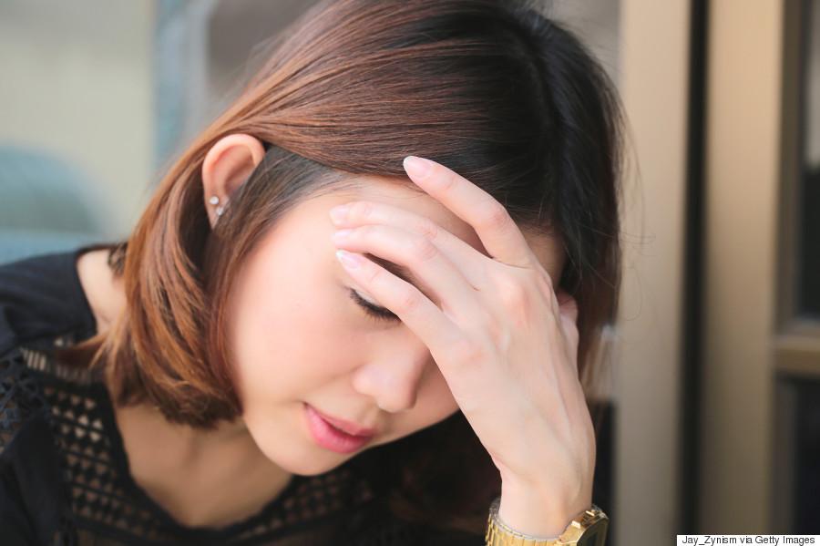 asian woman migraine