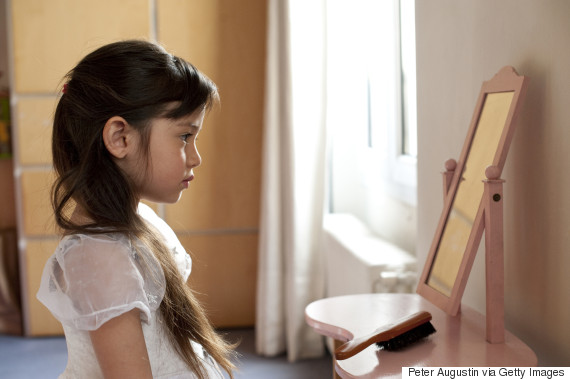 girl mirror