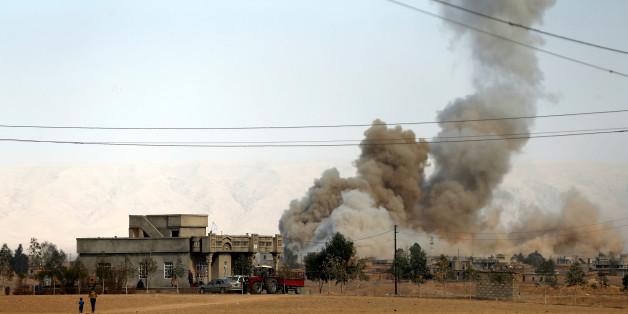 Offensive auf Mossul rückt vor: Schon 5600 Menschen vertrieben