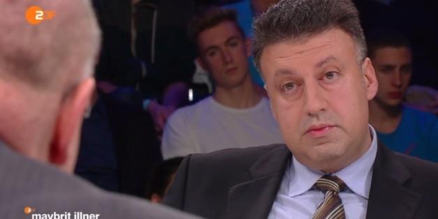 """Aktham Suliman, syrischer Journalist, bei """"Maybrit Illner"""""""