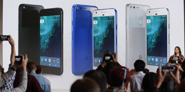 Google Pixel heißt das neueste Smartphone am Markt