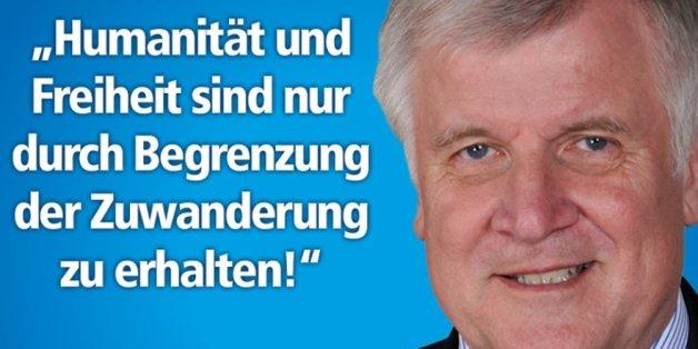 Absurder Facebook-Post: AfD Bayern ernennt Horst Seehofer zum Pressesprecher