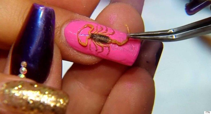 scorpion manicure
