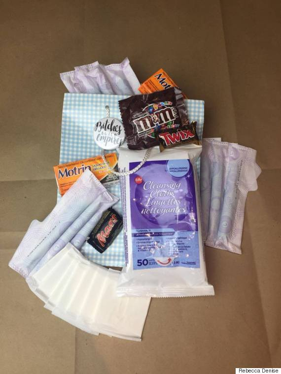 menstrual kit rebecca denise