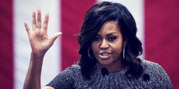 Donald Trump warf First Lady Michelle Obama eine widersprüchliche Haltung vor.