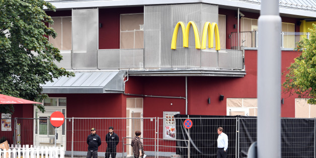 In dem McDonald's gegenüber dem Olympia-Einkaufszentrums begann der Amoklauf des 18-Jährigen Deutsch-Iraners.