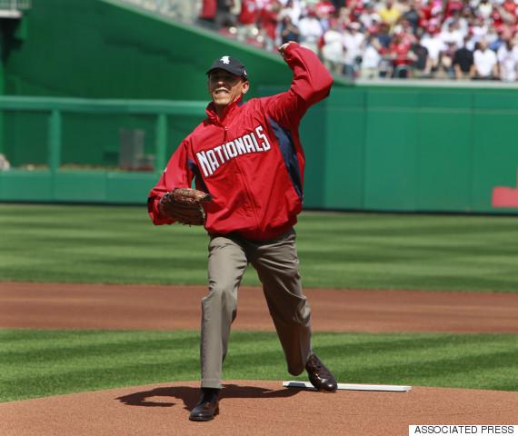 obama washington nationals baseball