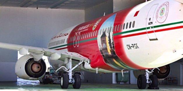 L'avion de la RAM aux couleurs de la COP22