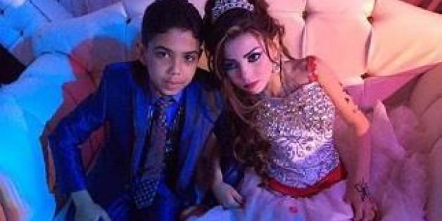 Die Verlobung eines 12-Jährigen mit einer 11-Jährigen hat in Ägypten für Empörung gesucht