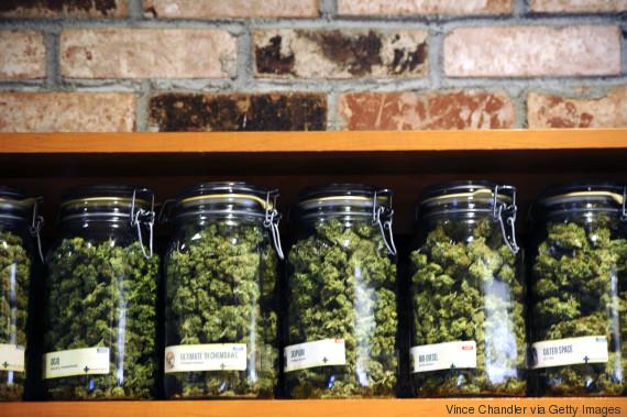 marijuana pot shop