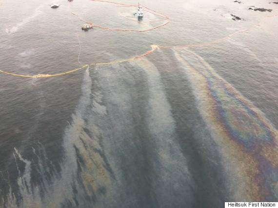bella bella oil spill