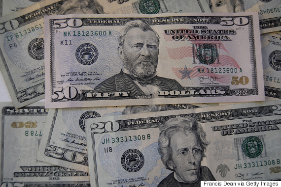 american dollar bills