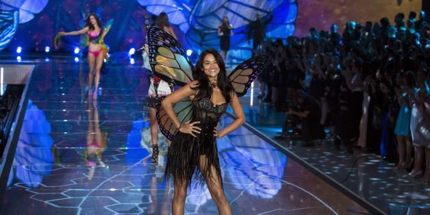 """""""Victoria Secret"""" stellt die neue Kollektion in Paris vor"""