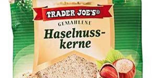 """""""Trader Joe's Gemahlene Haselnusskerne, 200 g"""" ruft Aldi Nord wegen Salmonellen zurück"""