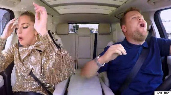lady gaga carpool karoke
