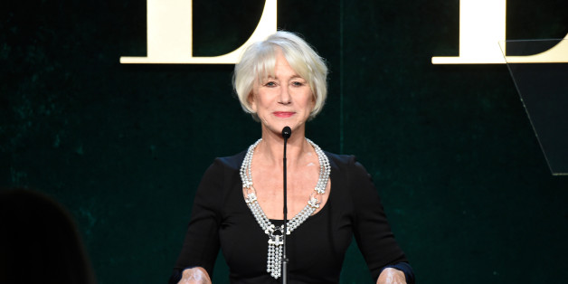 LOS ANGELES, CA - OCTOBER 24:  Honoree Helen Mirren speaks onstage during the 23rd Annual ELLE Women In Hollywood Awards at Four Seasons Hotel Los Angeles at Beverly Hills on October 24, 2016 in Los Angeles, California.  (Photo by Frazer Harrison/Getty Images for ELLE)