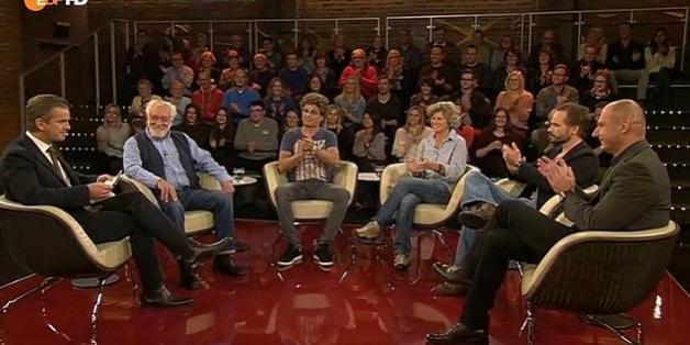 """Die Talkrunde bei """"Markus Lanz"""""""