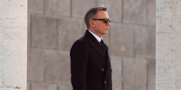 ROME, ITALY - FEBRUARY 19:Daniel Craig  is seen on location for the filming of Spectre on February 19, 2015 in Rome, Italy.  (Photo by Agostino Fabio/GC Images)