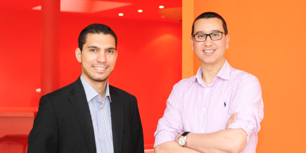 De gauche à droite: Yassine Chabli et Said El Haddati