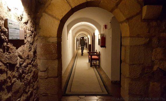 pasillos castillo siguenza