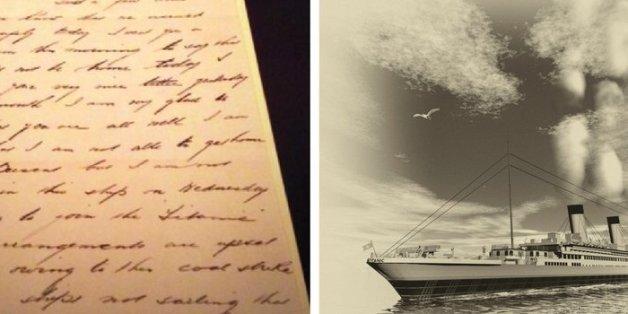 Im Zuge einer Auktion wurden Briefe des 2. Offiziers auf der Titanic versteigert.