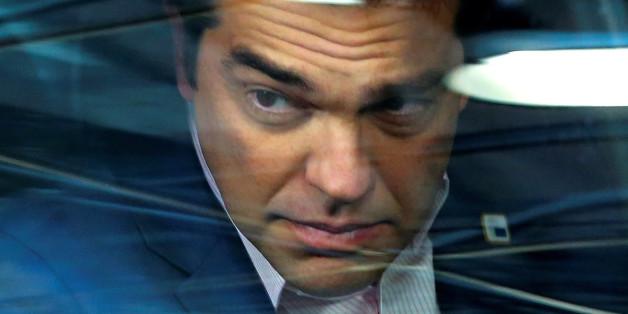 Der griechische Premierminister Alexis Tsipras in Brüssel