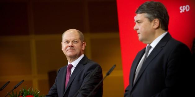 """SPD-Vize Scholz richtet mahnende Worte an Parteikollegen: """"Wir sind hier nicht beim Topfschlagen"""""""