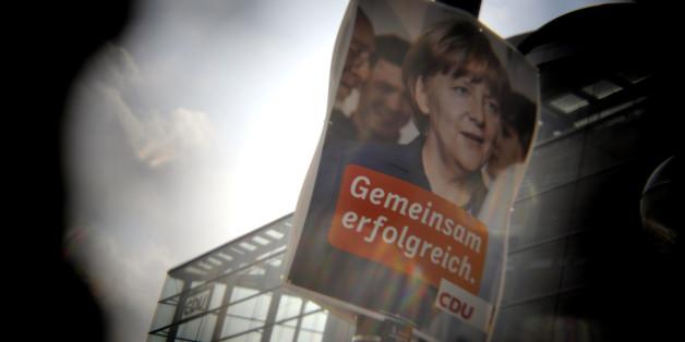 Klares Zeichen: Auch in Bayern will die Union im Bundestagswahlkampf mit Angela Merkel werben