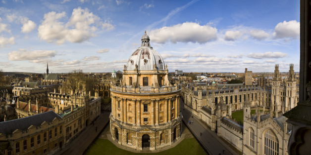 Panoramic view of Oxford in England