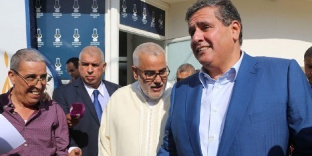 Aziz Akhannouch rencontre Abdelilah Benkirane