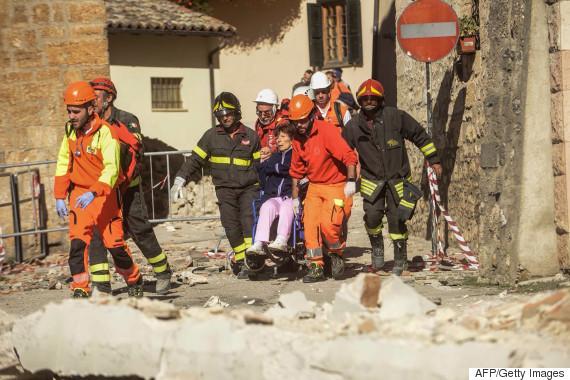 italy earthquake 2016