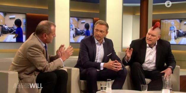 """Psychologe Manfred Spitzer sorgt für einen Eklat bei """"Anne Will"""""""