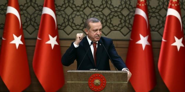 Der türkische Präsident: Recep Tayyip Erdogan